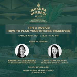 Invitation for Mukura Breezeblock IG Live Event How To Plan Your Kitchen Makeover